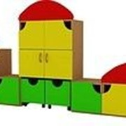 Стенка для игрушек Грибок фото