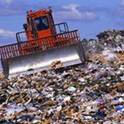 Утилизация твердых отходов фото