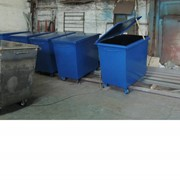 Контейнеры для мусора V 0,75м3-8м3 фото
