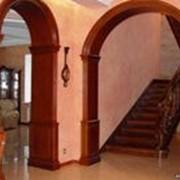 Установка готовой арки фото
