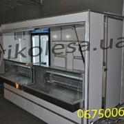 Торговый прицеп с холодильным оборудованием фото