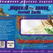 Палочки со вкусом кальмара (имитация). фото