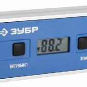Уровень-угломер ЗУБР ЭКСПЕРТ электронный магнитный, функция определения абсолютного нуля, точность 0,1 Град. Артикул: 34745 фото