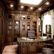 Интерьеры и мебель из массива на заказ фото
