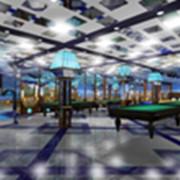Моделирование бтльярдного зала фото