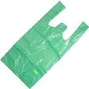 Пакет майка НАЙК зеленый 30*55 ПНД 25мкм (100шт/2500шт) фото