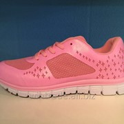 Кроссовки розовые ZYL16008 фото