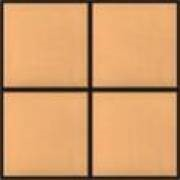 Плитка кислотоупорная напольная керамическая не глазурованная, естественно окрашенная, размер 200х200х20, ГОСТ 961-89 фото