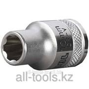 Торцовая головка Kraftool Industrie Qualitat , Cr-V, Super-Lock , хромосатинированная, 1/2, 17 мм Код:27801-17_z01 фото