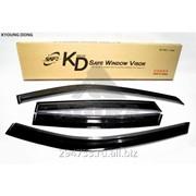 Дефлектор окон черный по 3 компл в упаковке Kyoung Dong, арт. K-901-95 фото