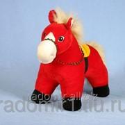 Мягкая игрушка Конь Огонек С145 фото