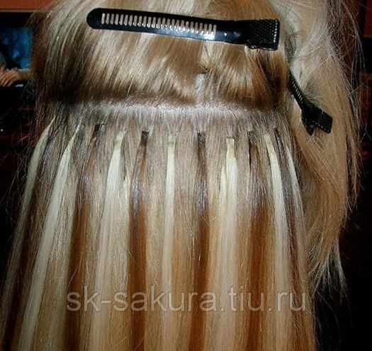 Краснодар микронаращивание волос