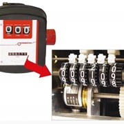 Механический счетчик MGI-80 для учета бензина, ДТ с импульсным выходом