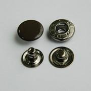 Кнопка стальная 15мм, тип Альфа, цвет №301 фото