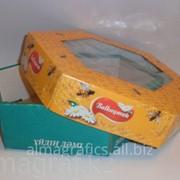 Упаковка Алма Графикс под печенье с прозрачным окошком фото