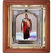 Икона аналойная Арх Михаил, риза, 17х19
