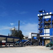 Стационарный асфальтобетонный завод АБЗ С120, производительностью 120 тонн/час фото