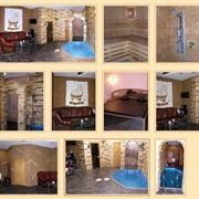 Сауна в Киеве с бассейном, комнатой отдыха, банкетным залом, нард-клубом, кальяном и услугами профессионального массажиста владеющего техниками лечебного и расслабляющего массажа. фото