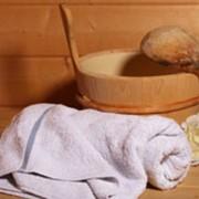 Сауна с ароматическими маслами или травяными отварами фото