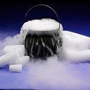 Сухой лед - Двуокись углерода твердая в брикетах ГОСТ 8050-85 фото