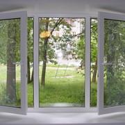 Окна пластиковые ламинированные фото