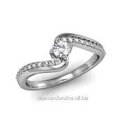 Кольца с бриллиантами D42833-1 фото