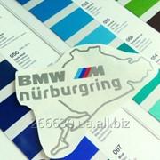 Виниловая наклейка BMW ///M Nurburgring фото
