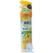 Спрей-освежитель воздуха ST Shoushuuriki против запаха домашних животных с ароматом фруктового сада 280мл 4901070121045 фото