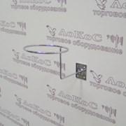 Подставка под шляпы к стене, хром, F08 фото