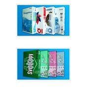 Цветная бумага IQ Color PALE Серо-синий МEDIUM BLUE, плотность 160гм2 формат A3, 29,7 х 42см фото