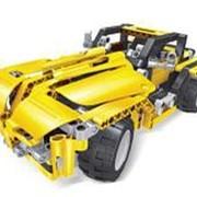 """Автомобиль-конструктор р/у 2в1 Mioshi Tech """"Мастер-Вездеход"""" (2 модели, 29х14х14 см, 426 дет., USB) фото"""