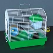 Клетка для грызунов HOMеZOO №7 цинк (35*25*31) 7#Z (1*10) нк-008 фото