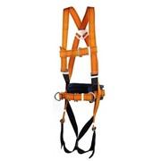 Страховочно-удерживающая привязь с наплечными и набедренными и лямками СУПР II Ж фото