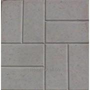 Тротуарная плитка Восемь кирпичей 400х400х50 фото