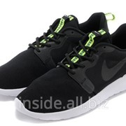 Кроссовки Nike Roshe Run Hyperfuse Black Anthracite Venom Green 43 фото