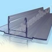 Профиль соединительный разъемный НСР 6-10 мм (база) с УФ защитой фото