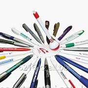Нанесение на ручки логотип фото