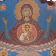 Роспись стен церкви оформление, иконопись. фото