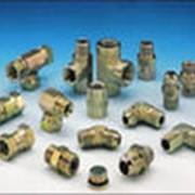 Комплектующие для оцинкованных трубопроводов фото