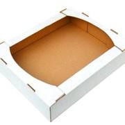 Кондитерский лоток (телевизор) Коробка для пиццы Коробка самосборная Ящик из гофрокартона фото