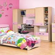 Детская мебель из МДФ и ДСП эконом класса фото