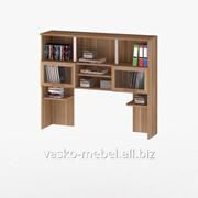 Надстройка для стола, Васко СОЛО-013 Корпус слива, фасад слива/стекло фото