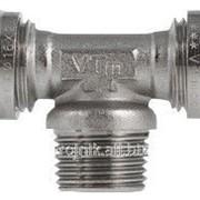Тройник обжимной 32х1 дюйм Н х32 Valtec VTm.333.N.320632, арт.18577 фото