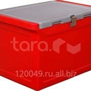 Изотермический контейнер 50 литров с крышкой без сливных отверстий (645х405х420 мм) Арт.RIC 50 фото
