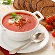 Супы и горячие блюда в ассортименте фото
