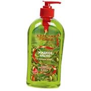Жидкое мыло Красная Линия с маслом оливы фото