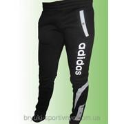 Штаны спортивные зауженные Adidas - зима 033 фото