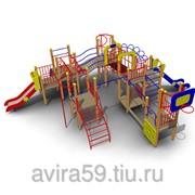 Детский игровой комплекс ИК-23 Размеры 9380х8440х3295мм фото