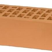 Кирпич облицовочный персиковый утолщенный ГОСТ 530-2012 фото