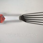 Лопатка перфорирированная металлическая с пластиковой ручкой .L=15,5см Proff Chef Line LQ фото